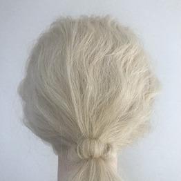* ヘアゴムを髪で隠す方法 【アレンジ】 *