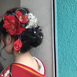 成人式・卒業式のヘアセット