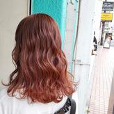 最近の暖色カラー